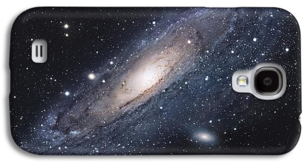 Constellations Galaxy S4 Cases - The Andromeda Galaxy Galaxy S4 Case by Robert Gendler