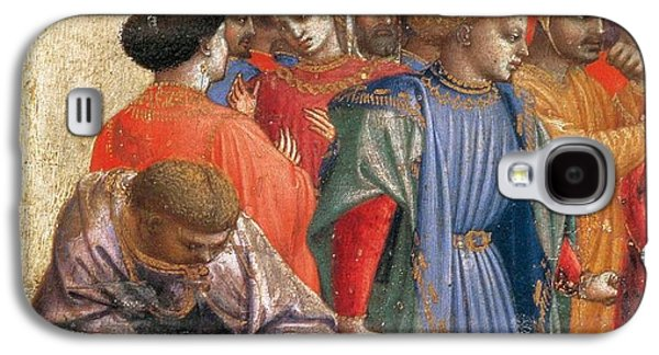 Columns Galaxy S4 Cases - The Annunciation Galaxy S4 Case by Fra Angelico