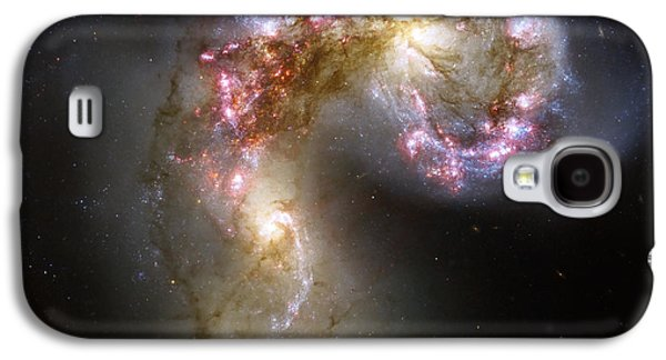 Merging Galaxy S4 Cases - The Antennae Galaxies Galaxy S4 Case by Stocktrek Images