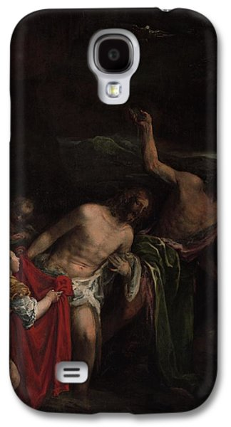 The Baptism Of Christ Galaxy S4 Case by Jacopo Bassano