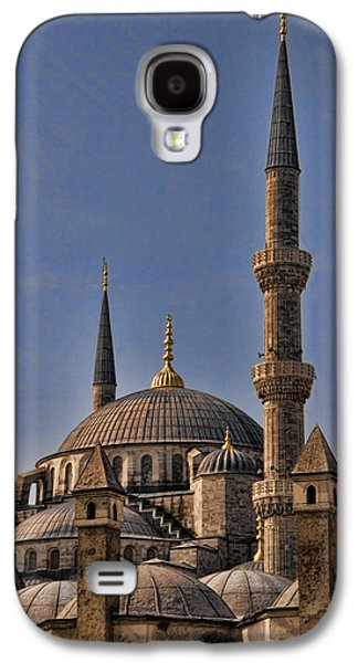 Interface Galaxy S4 Cases - The Blue Mosque in Istanbul Turkey Galaxy S4 Case by David Smith