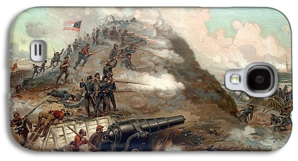 Civil War Galaxy S4 Cases - The Capture Of Fort Fisher Galaxy S4 Case by War Is Hell Store