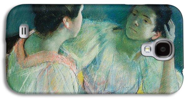 The Conversation Galaxy S4 Case by Mary Stevenson Cassatt