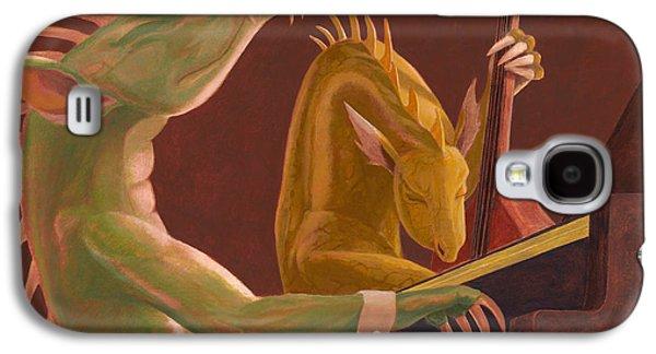 Leonard Filgate Paintings Galaxy S4 Cases - The Duo Galaxy S4 Case by Leonard Filgate