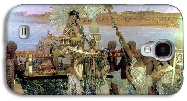 The Finding Of Moses Galaxy S4 Case by Sir Lawrence Alma Tadema