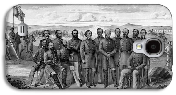 Stonewall Galaxy S4 Cases - The Generals Of The Confederate Army Galaxy S4 Case by War Is Hell Store