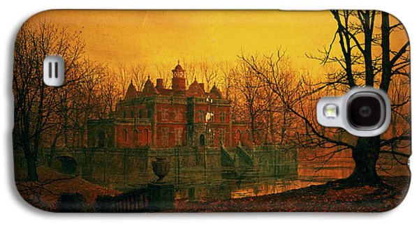 The Haunted House Galaxy S4 Cases - The Haunted House Galaxy S4 Case by John Atkinson Grimshaw