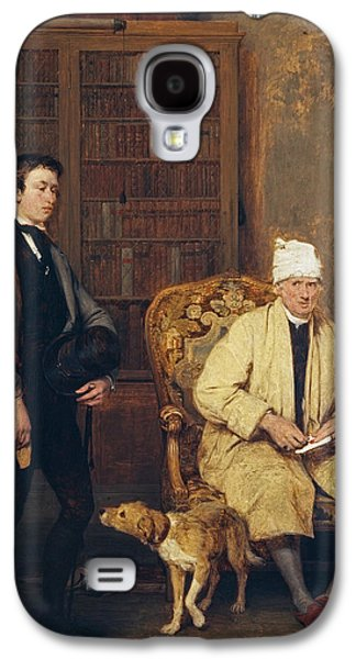 The Letter Of Introduction Galaxy S4 Case by David Wilkie
