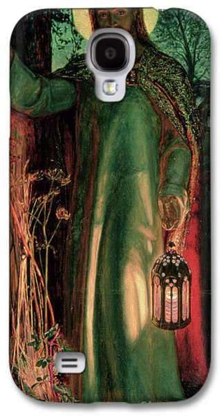 The Light Of The World Galaxy S4 Case by William Holman Hunt