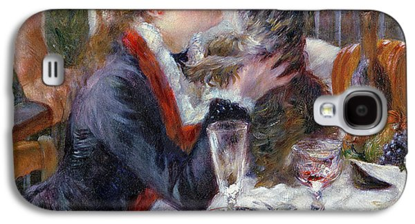 The Luncheon Of The Boating Party Galaxy S4 Case by Pierre Auguste Renoir