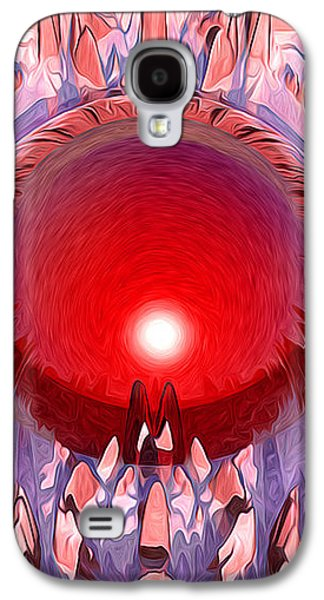 The Red Planet Galaxy S4 Case by Phil Perkins