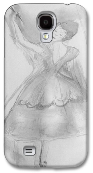 Dance Ballet Roses Galaxy S4 Cases - The rose  Galaxy S4 Case by Judith Desrosiers