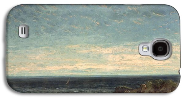The Sea Galaxy S4 Case by Gustave Courbet