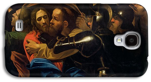 Religious Galaxy S4 Cases - The Taking of Christ Galaxy S4 Case by Michelangelo Caravaggio