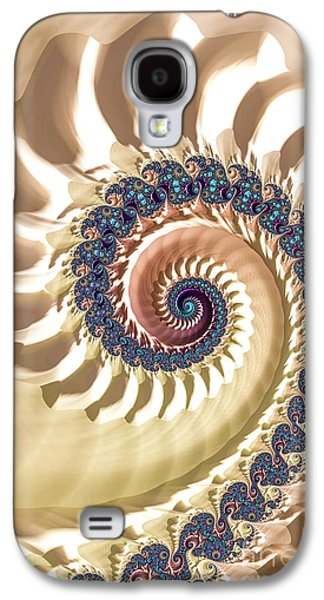 Abstracted Galaxy S4 Cases - The Wave Galaxy S4 Case by Steve Purnell