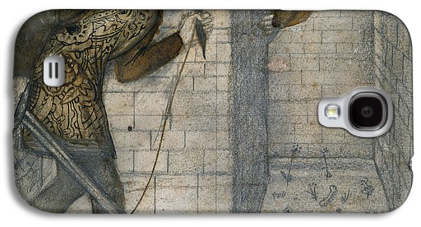 Theseus And The Minotaur In The Labyrinth Galaxy S4 Case by Edward Burne-Jones