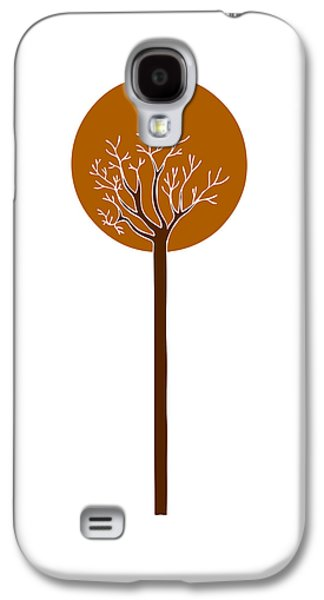 Modern Drawings Galaxy S4 Cases - Tree Galaxy S4 Case by Frank Tschakert
