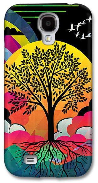 Spiritualism Galaxy S4 Cases - Tree Galaxy S4 Case by Mark Ashkenazi