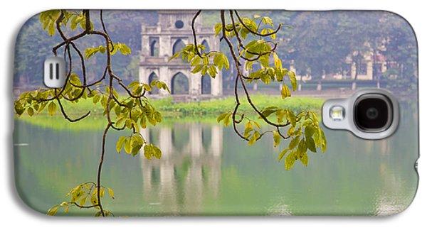 Ancient Galaxy S4 Cases - Tree with View of Hoan Kiem Lake, Hanoi, Vietnam, Asia Galaxy S4 Case by David Buffington