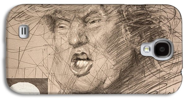Trump Galaxy S4 Case by Ylli Haruni