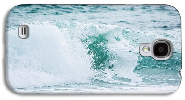 Splashy Photographs Galaxy S4 Cases - Turquoise Waters Galaxy S4 Case by Shelby  Young