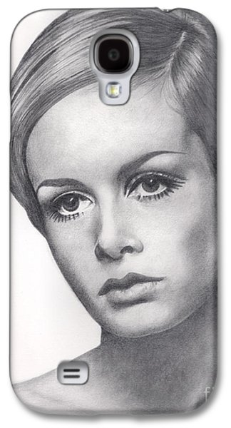 Twiggy Galaxy S4 Cases - Twiggy Galaxy S4 Case by Karen  Townsend