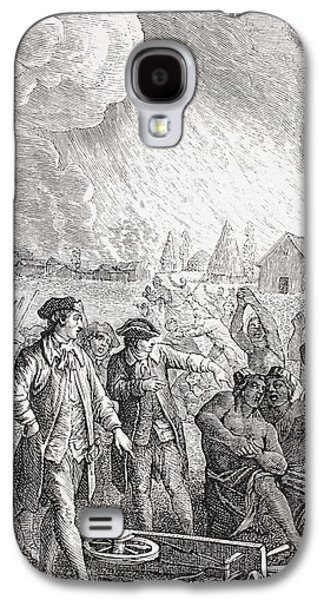 Slavery Galaxy S4 Cases - Typical Slave Trading Scene In The 18th Galaxy S4 Case by Ken Welsh