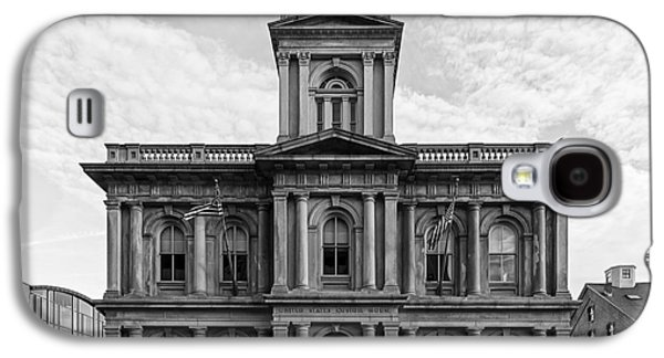 Old Maine Houses Galaxy S4 Cases - United States Custom House - Portland Maine Galaxy S4 Case by Mountain Dreams