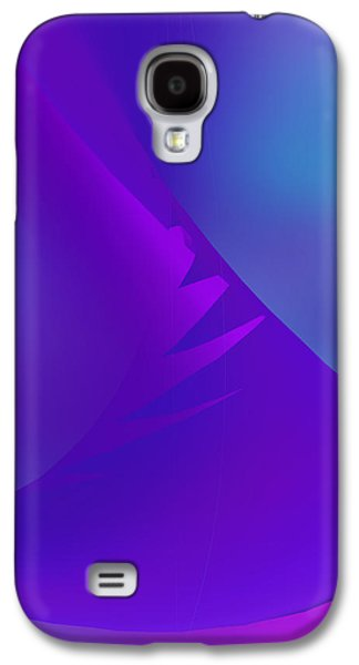 Abstract Digital Tapestries - Textiles Galaxy S4 Cases - Untitled Galaxy S4 Case by Suzi Freeman