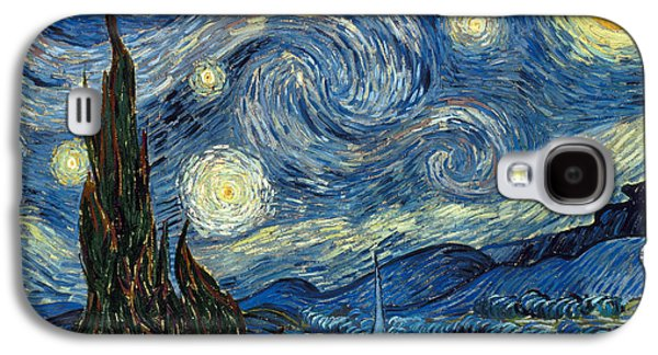 Starry Paintings Galaxy S4 Cases - Van Gogh Starry Night Galaxy S4 Case by Granger