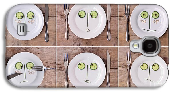 Vegetable Faces Galaxy S4 Case by Nailia Schwarz