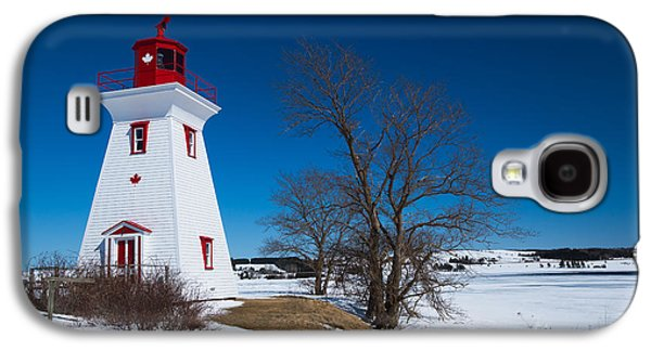 Buildings By The Ocean Galaxy S4 Cases - Victoria by the Sea Lighthouse Galaxy S4 Case by Verena Matthew