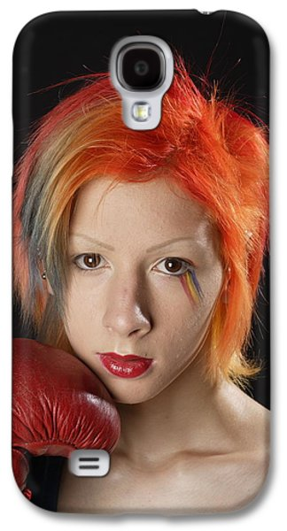 Boxer Galaxy S4 Cases - Vincent Galaxy S4 Case by Pierre Roussel