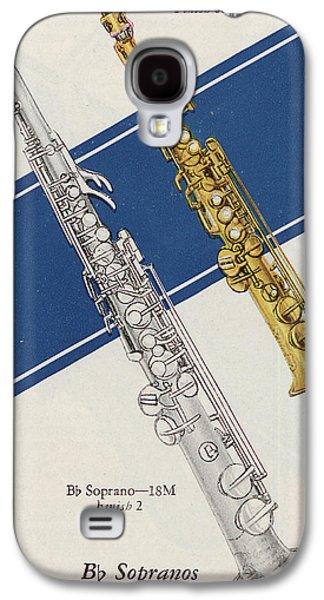 Soprano Galaxy S4 Cases - Vintage Poster Galaxy S4 Case by American School