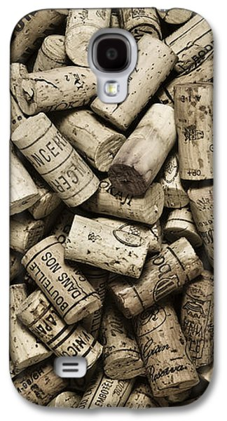 Style Life Photographs Galaxy S4 Cases - Vintage Wine Corks Galaxy S4 Case by Frank Tschakert