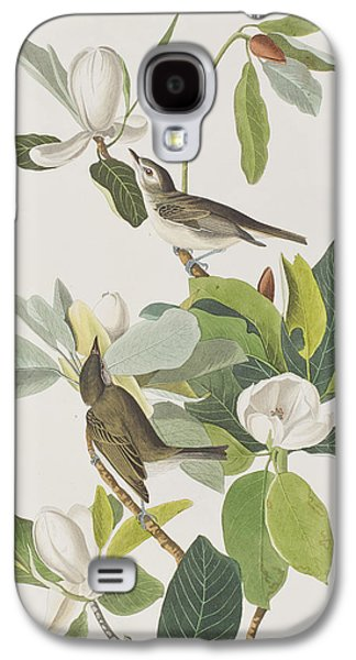 Warbling Flycatcher Galaxy S4 Case by John James Audubon