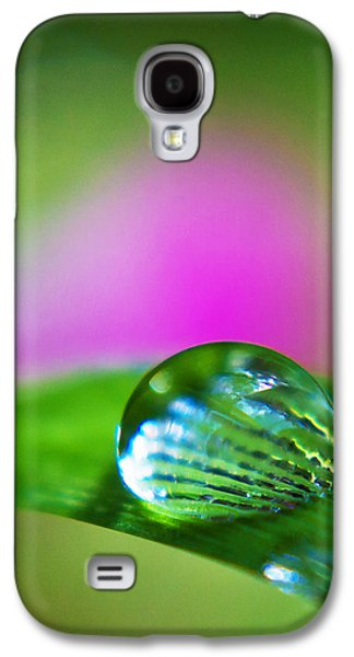 Abstract Nature Galaxy S4 Cases - Water Diamond v2 Galaxy S4 Case by Alex Art