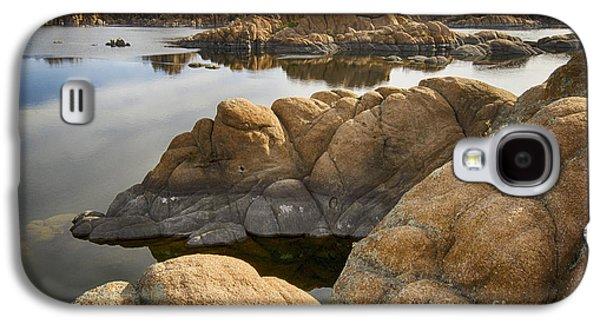 Watson Lake Arizona 13 Galaxy S4 Case by Bob Christopher