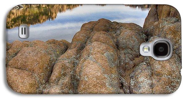 Watson Lake Arizona 15 Galaxy S4 Case by Bob Christopher