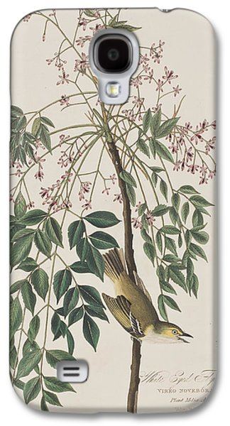 White-eyed Flycatcher Galaxy S4 Case by John James Audubon