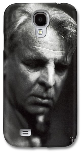 Personalities Photographs Galaxy S4 Cases - William Butler Yeats Galaxy S4 Case by Photo Researchers