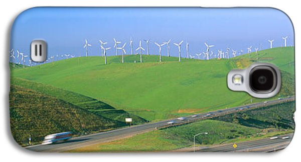 Technological Photographs Galaxy S4 Cases - Wind Energy Windmills Along Route 580 Galaxy S4 Case by Panoramic Images