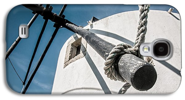 Old Mill Scenes Photographs Galaxy S4 Cases - Windmill Galaxy S4 Case by Carlos Caetano