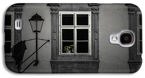 Salzburg Galaxy S4 Cases - Window garden Galaxy S4 Case by Chris Fletcher