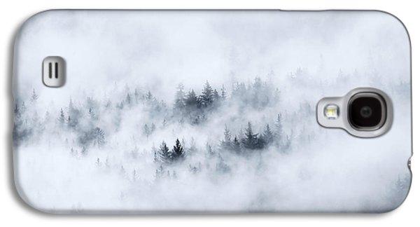 Fog Mist Galaxy S4 Cases - Winter Galaxy S4 Case by Mike  Dawson