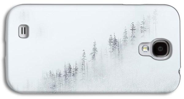 Fog Mist Galaxy S4 Cases - Winter Veil Galaxy S4 Case by Mike  Dawson