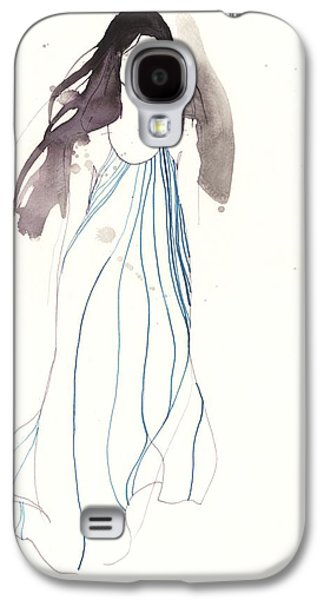 Loose Style Galaxy S4 Cases - Woman with dress from Chloe Galaxy S4 Case by Toril Baekmark