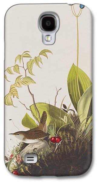 Wood Wren Galaxy S4 Case by John James Audubon