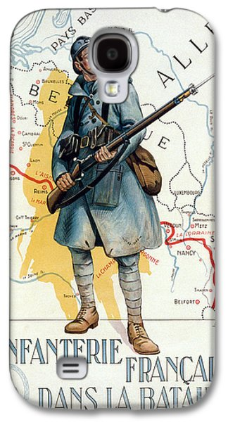 Bayonet Galaxy S4 Cases - World War I: French Poster Galaxy S4 Case by Granger