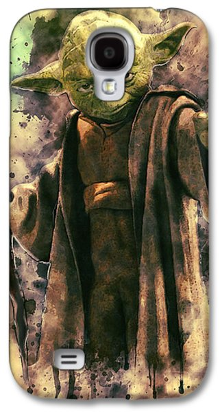 Yoda Galaxy S4 Case by Taylan Apukovska